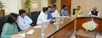 Trainee IAS Officials visit